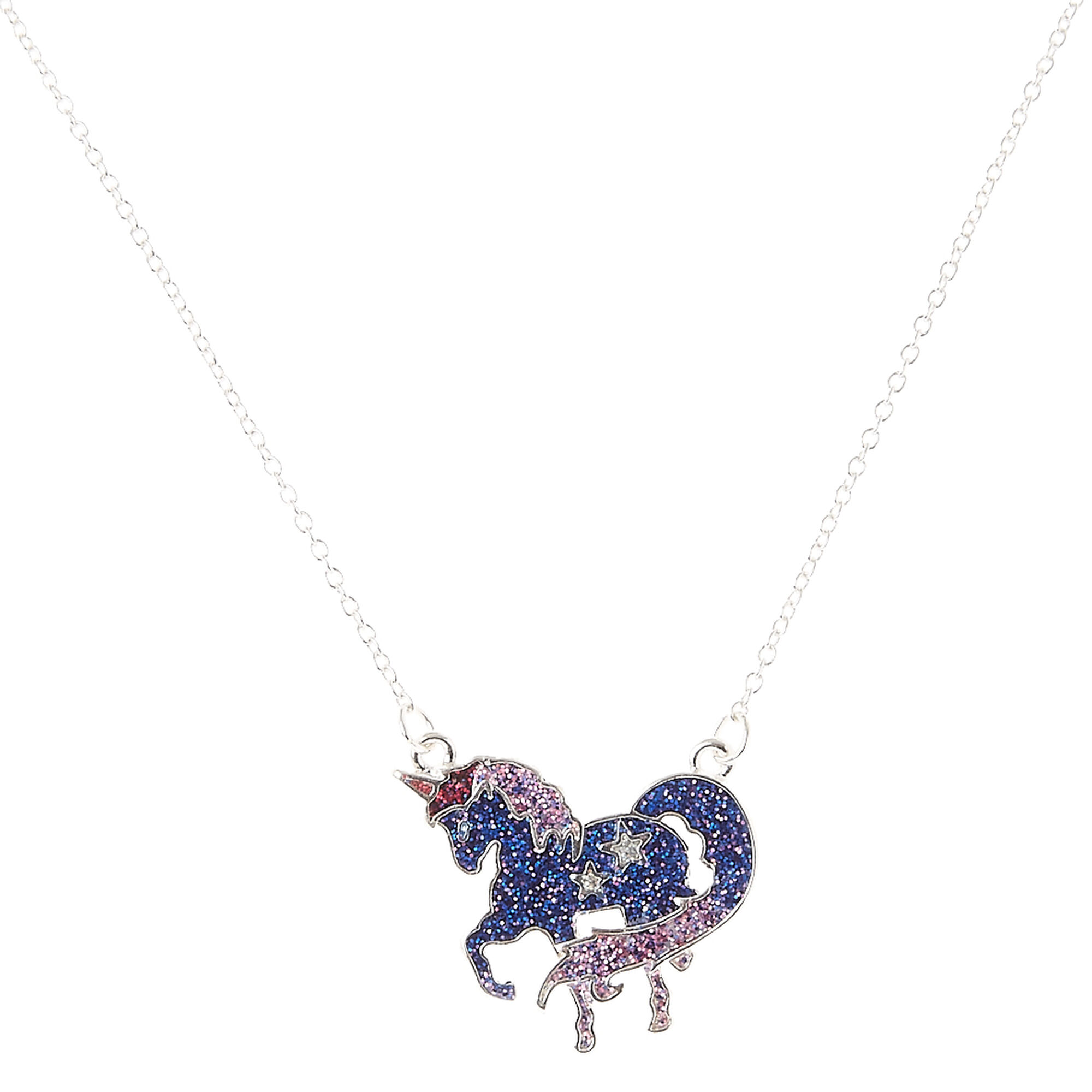 unicorn necklace products emoji co shop wanderlust sil in silver