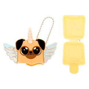 Pucker Pops Flying Unicorn Pug Lip Gloss - Marshmallow,