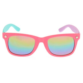 Claire's Club Three Tone Mirrored Sunglasses,
