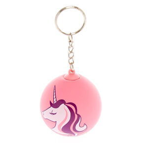 Miss Glitter the Unicorn Stress Ball Keychain - Pink,