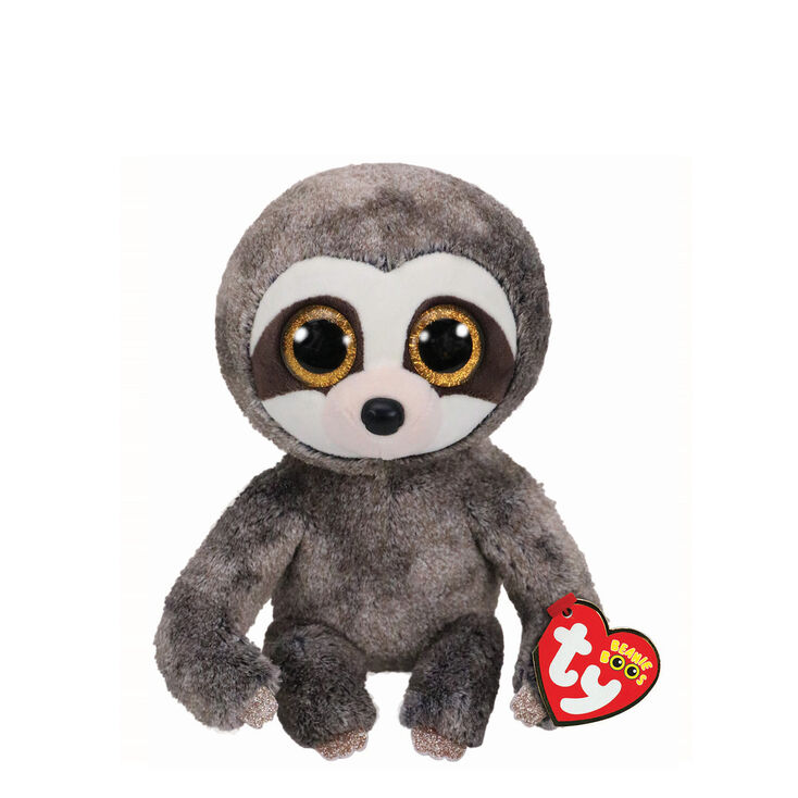 09a8cebc0f0 Ty Beanie Boo Small Dangler the Sloth Soft Toy