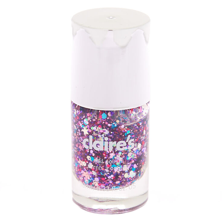 Mixed Star Confetti Nail Polish,