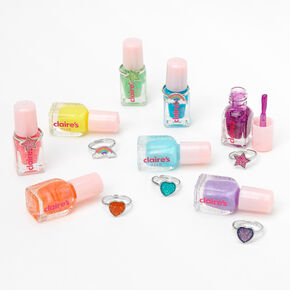 Claire's Club Neon Peel-Off Nail Polish Set - 8 Pack,