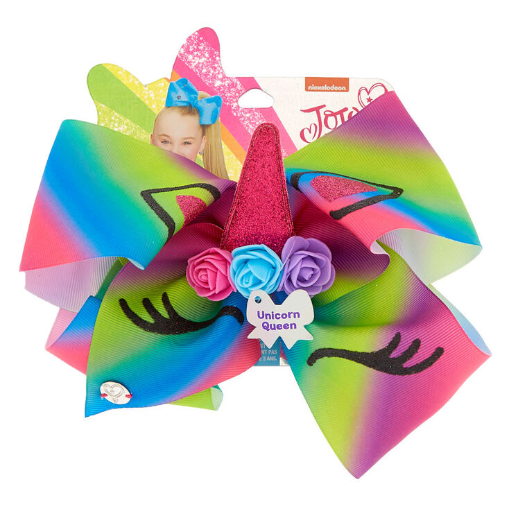 JoJo Siwa™ Large Unicorn Queen Signature Hair Bow,
