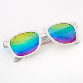 Claire's Club Holographic Retro Sunglasses,