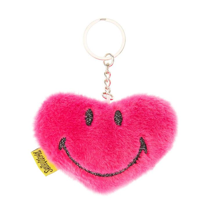 Porte-clés en peluche douce Smiley World®,