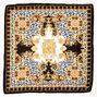 Fancy Leopard Bandana Headwrap - Black,