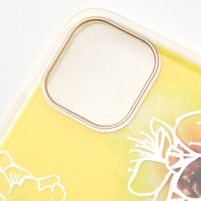 Yellow Floral Phone Case - Fits iPhone 11 Pro Max,