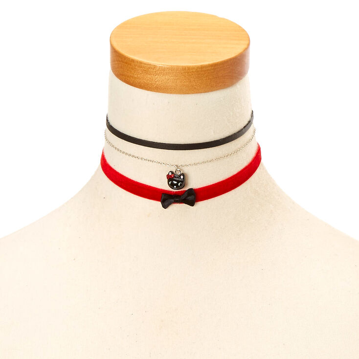 Kids 3 Pack Buffalo Babe Choker Necklaces Claire S Us