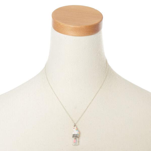 Claire's - unicorn poop pendant necklace - 2