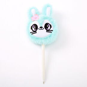 Jade the Bunny Plush Pen - Mint,