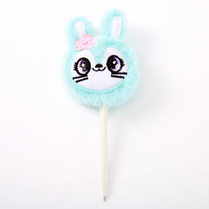 Jade the Bunny Plush Pen - Mint,
