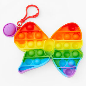 Pop Poppers JoJo Siwa™ Fidget Toy Keychain - Rainbow,