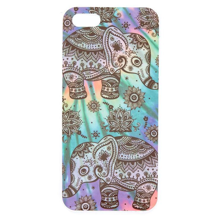 Tie Dye Henna Elephant Phone Case Claire S