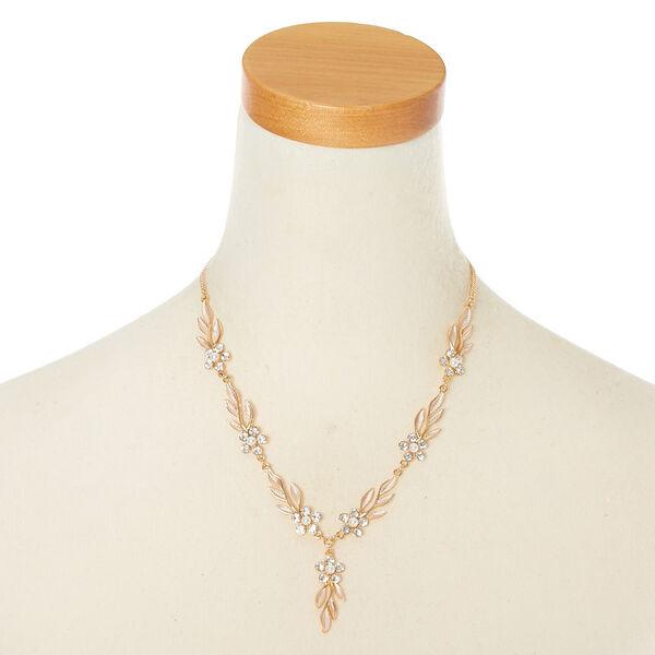 Claire's - floral vine jewelry set - 2