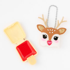 Pucker Pops Holiday Reindeer Lip Gloss - Cherry,