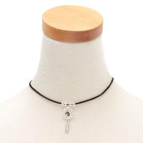 Unicorn Dreamcatcher Mood Choker Necklace,