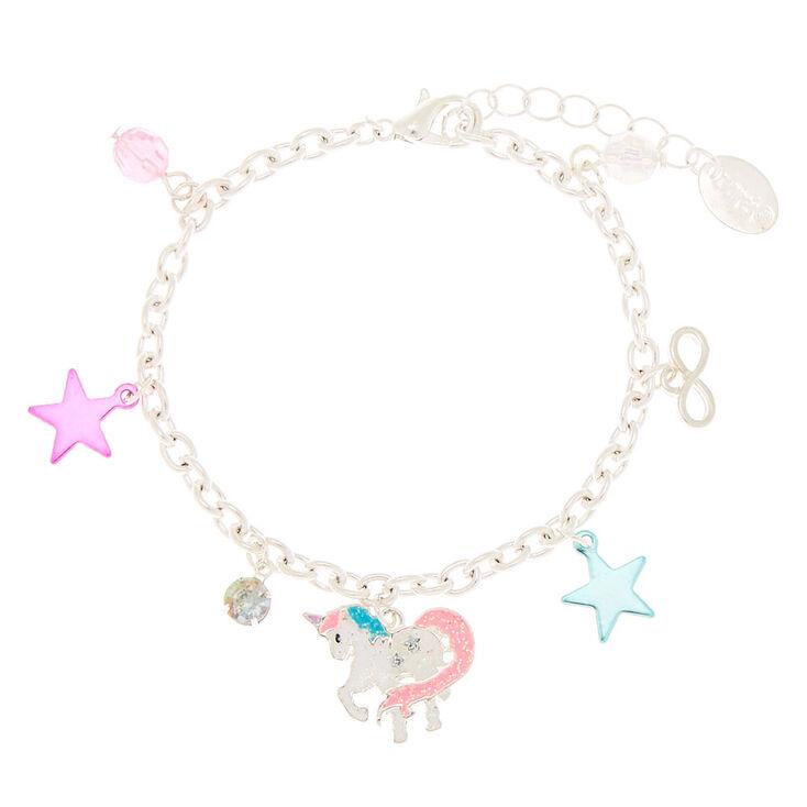 Cosmic Unicorn Charm Bracelet,