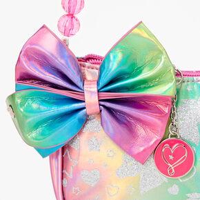 JoJo Siwa™ Holographic Glitter Unicorn Purse - Rainbow,