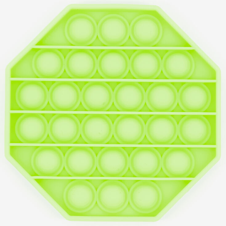 Glow in the Dark Push Poppers Fidget Toy – Styles May Vary,