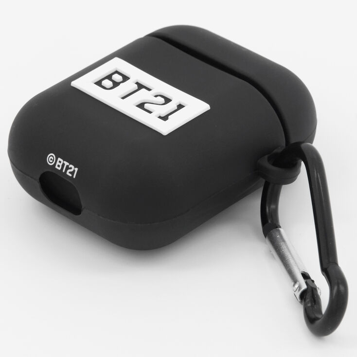 Étui pour écouteurs en silicone BT21© - Compatible avec les AirPods® de Apple,