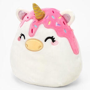 """Squishmallows™ 8"""" Claire's Exclusive Melty Unicorn Plush Toy,"""