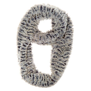 Go to Product: Chinchilla Infinity Scarf - Grey from Claires