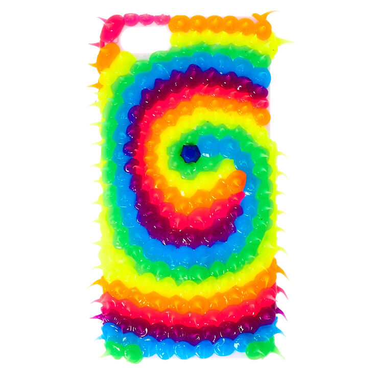 wholesale dealer 12904 c48cb Rainbow Rubber Spike Swirl iPod® Touch Case