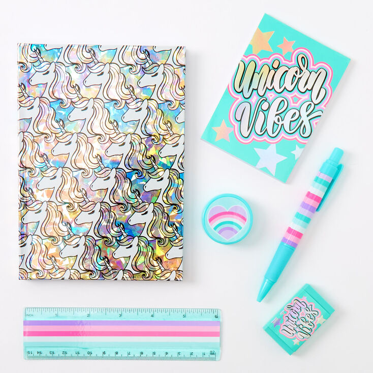 Pencil Notepad Erasers /& More Ruler LOL Surprise Stationery Set w Pouch