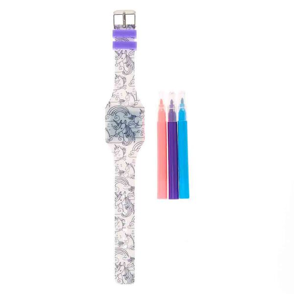 Claire's - unicorn led watch - 2