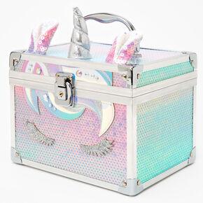 Pastel Unicorn Sequin Lock Box,