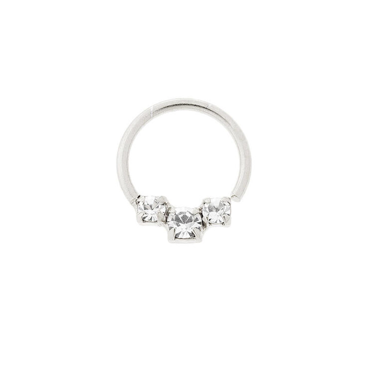 sterling silver 20g cartilage hoop earring s ca