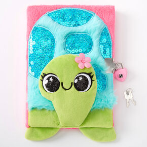 Tessa the Turtle Lock Diary - Pink,