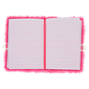 6a60df02498 Miss Glitter the Unicorn Plush Lock Diary - Pink