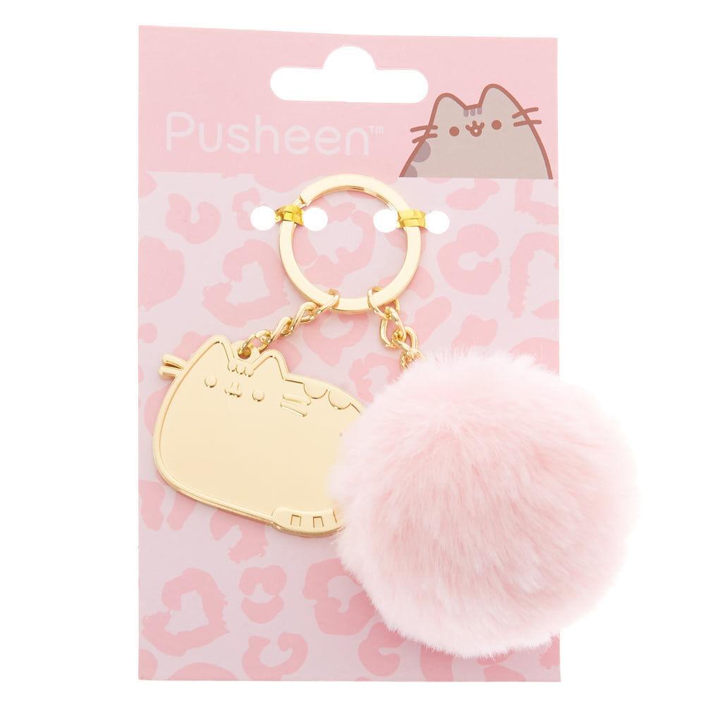 Pusheen® Pompom Wild Keyring Gold