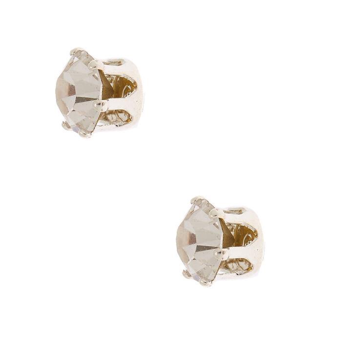 Silver Rhinestone Choker Jewelry Set - 3 Pack,