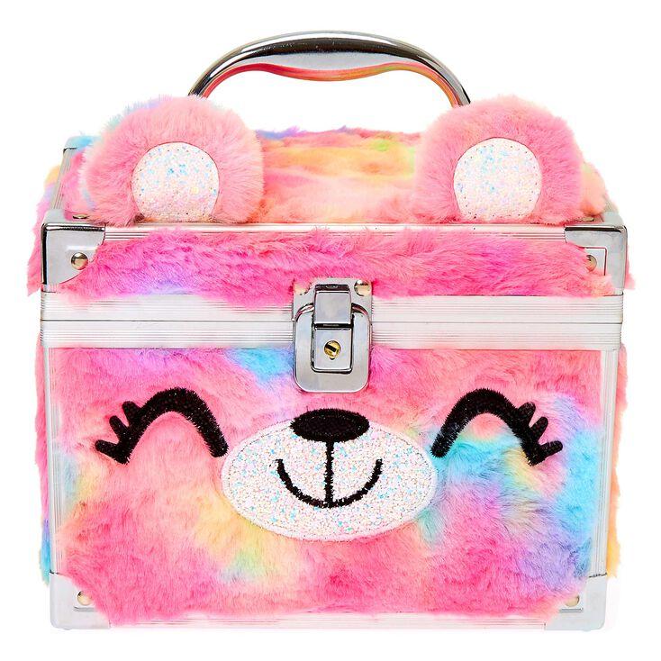 Sugar the Bear Rainbow Soft Lock Box,