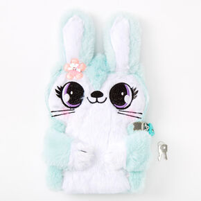 Jade the Bunny Soft Lock Diary - Mint,