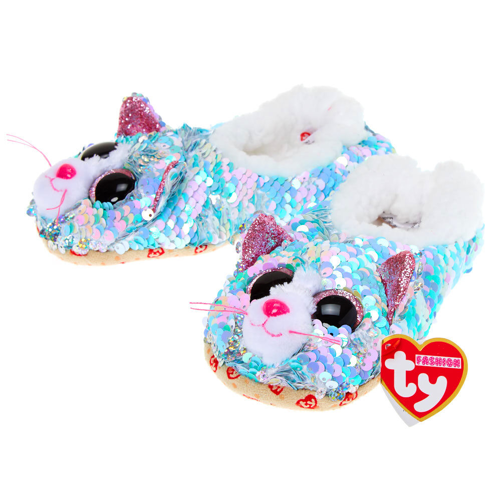 Ty Beanie Boo Whimsy the Cat Reversible