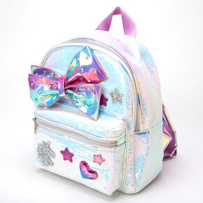 Jojo siwa™ Holographic Sequins Mini Backpack – Pink,