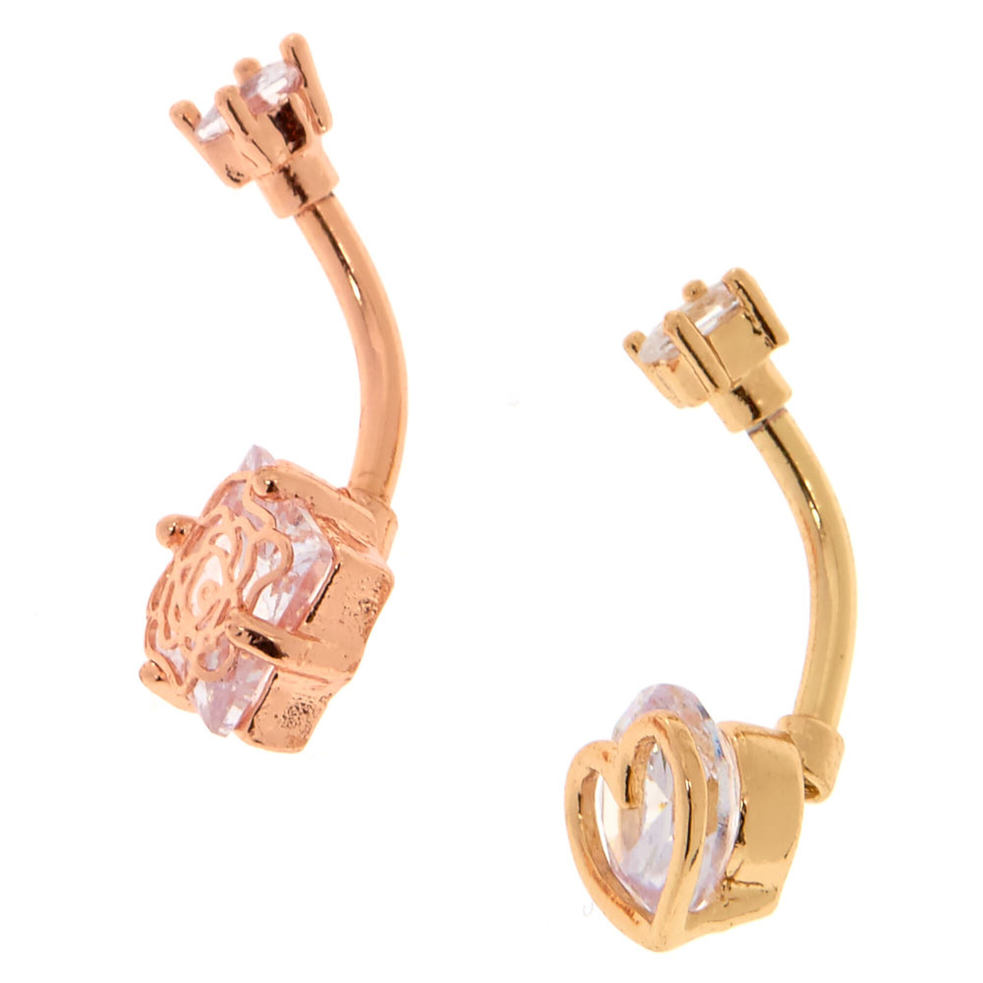 caged r rings side rose bar diamond gold ring