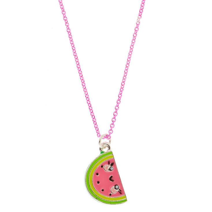 Watermelon Popsicle Necklace