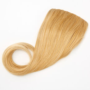 Extensions de cheveux synthétiques à clip couronne booster - Blond,