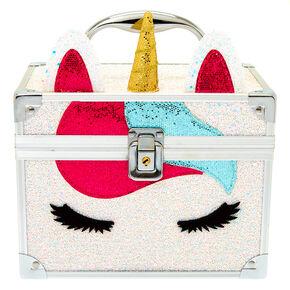 Miss Glitter the Unicorn Lock Box - White,