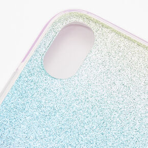 Pastel Glitter Ombre Phone Case - Fits iPhone XR,