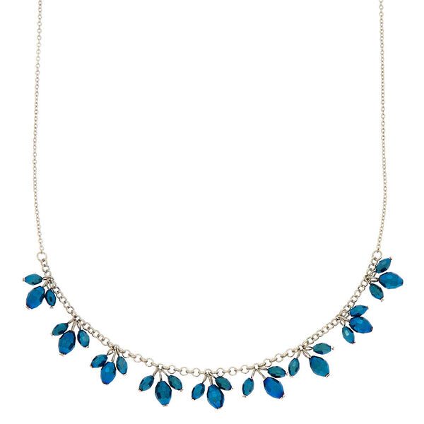 Claire's - shiny beaded statement necklace - 1