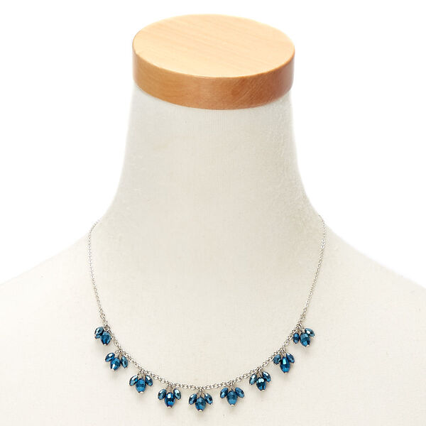 Claire's - shiny beaded statement necklace - 2