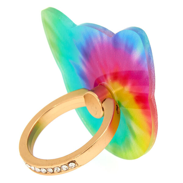 Claire's - tie-dyecat ring stand - 2
