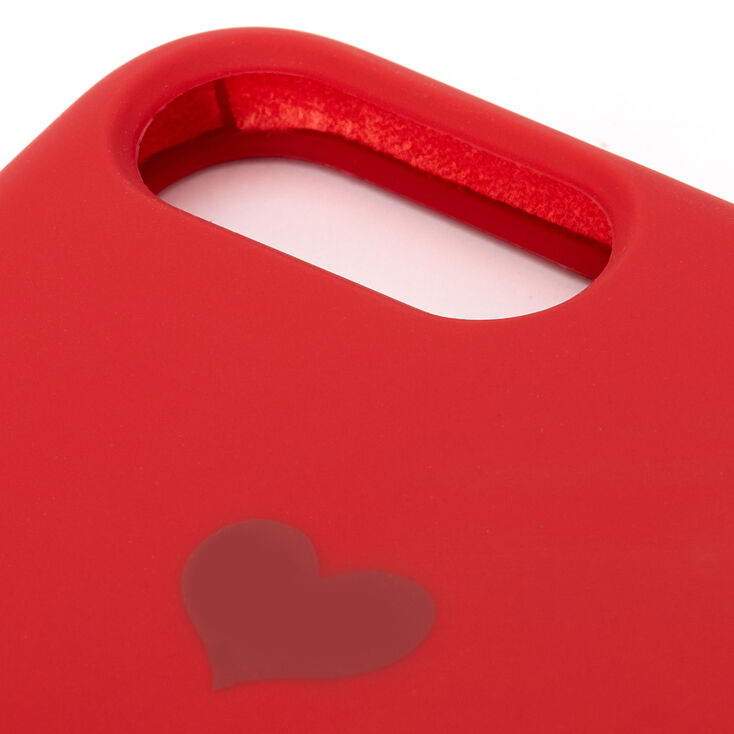 Red Heart Phone Case - Fits iPhone 6/7/8 Plus,