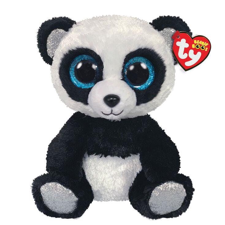 Ty Beanie Boo Medium Bamboo the Panda Soft Toy,